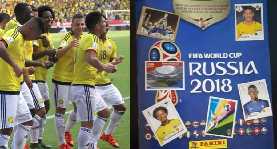 Selección Colombia / Álbum del Mundial