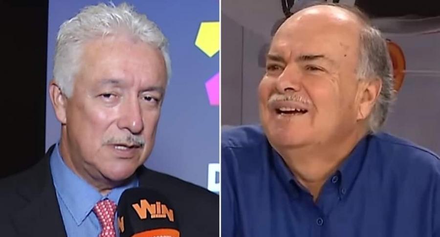Jorge Perdomo e Iván Mejía