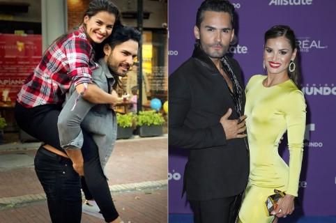 Fabián Ríos y Yuly Ferreira, esposos y actores.