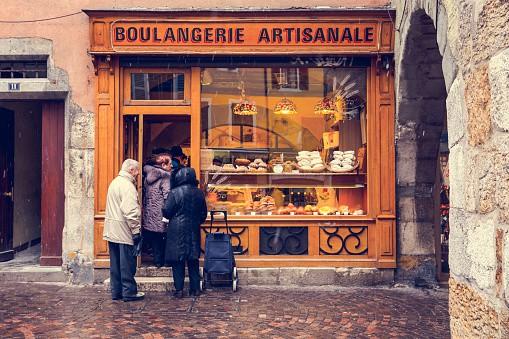 Panadería artesanal en Francia