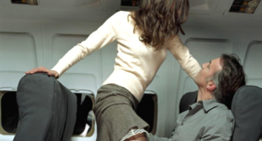 Sexo en avión