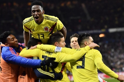 Francia 2-3 Colombia