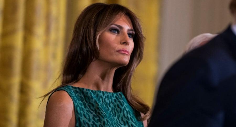 Melania Trump en la Casa Blanca