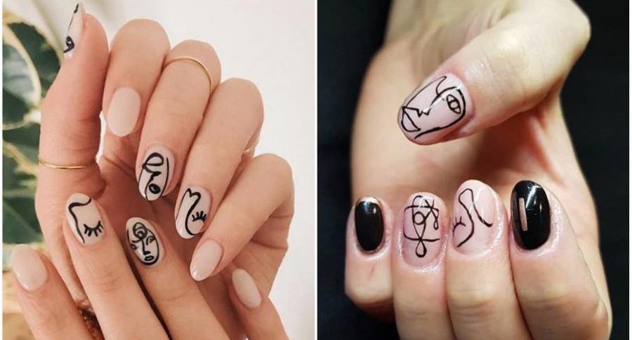 'Uñas Picasso'.