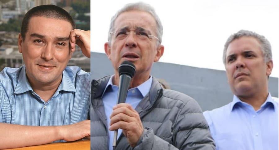 'Matador', Álvaro Uribe e Iván Duque