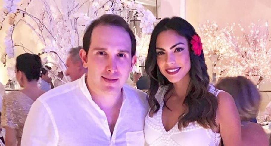 Juan Pablo Silva y Eileen Roca