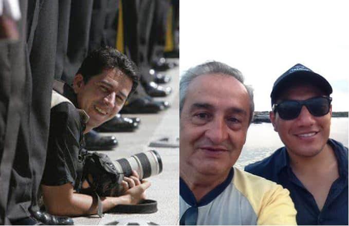 Paúl Rivas, Efraín Segarra y Javier Ortega