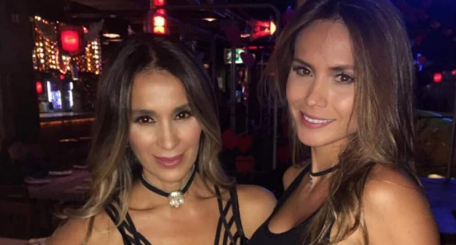 Catherine Siachoque y Carolina Sepúlveda, actrices.