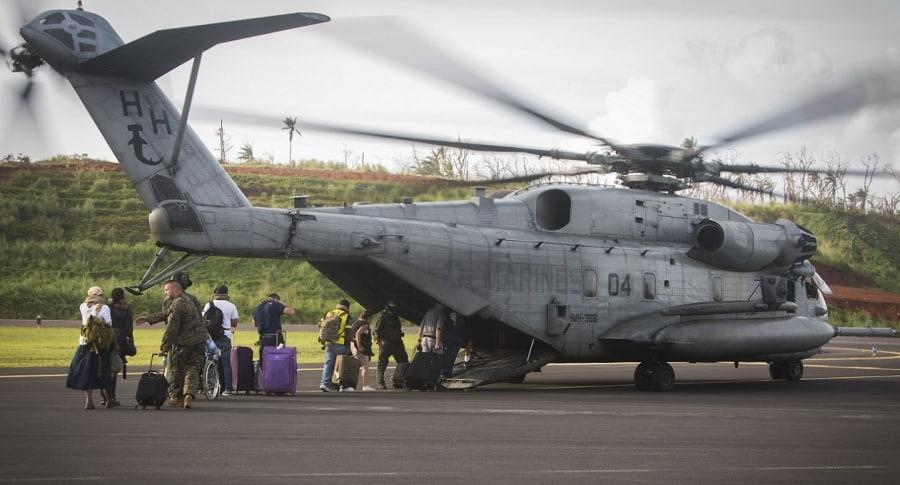 Helicóptero CH-53E Super Stallion