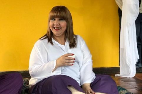 'La Gorda Fabiola', humorista.