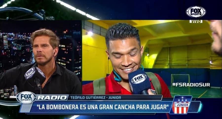 Entrevista a 'Teo' Gutiérrez
