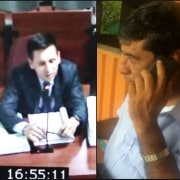 Falso fiscal y Pedro Aguilar