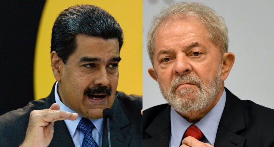 Maduro y Lula