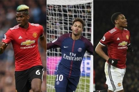 Pogba / Neymar /Martial