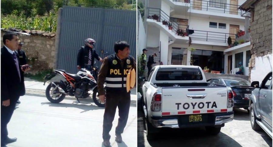 Operativo de la Fiscalía peruana