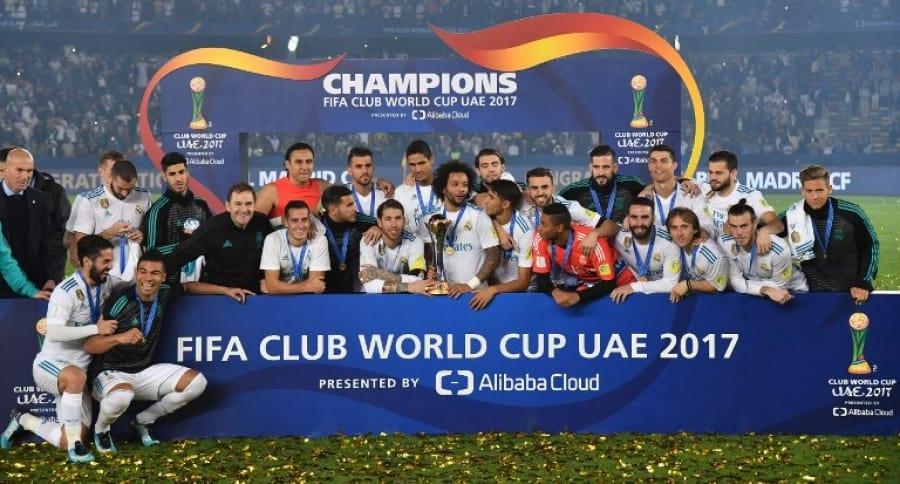 Real Madrid, actual campeón del Mundial de Clubes