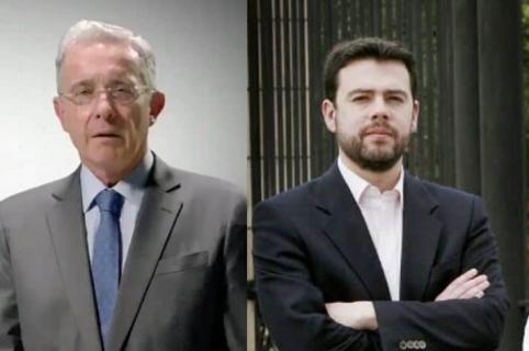 Álvaro Uribe, Carlos Fernando y Juan Manuel Galán