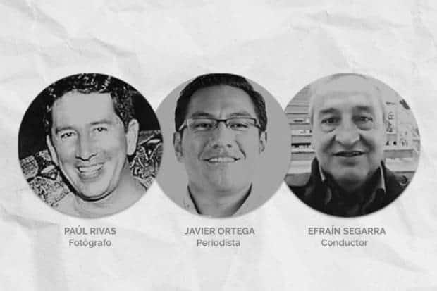 Periodistas secuestrados
