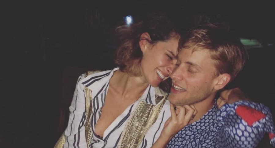 Ana Wills y su novio