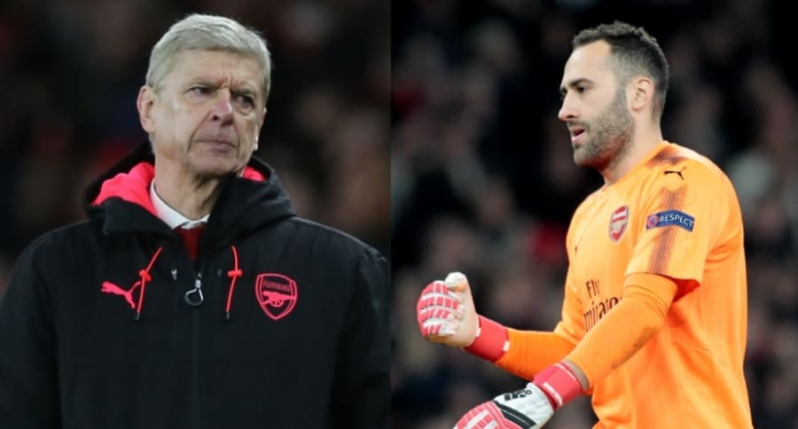 Arsene Wenger / David Ospina