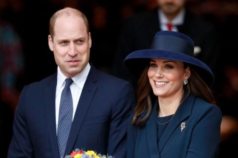 Príncipe William, duque de Cambridge y Kate Middleton, duquesa de Cambridge