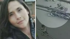 Lucero Pérez, víctima de irresponsable motociclista que la atropelló en calle de Bogotá