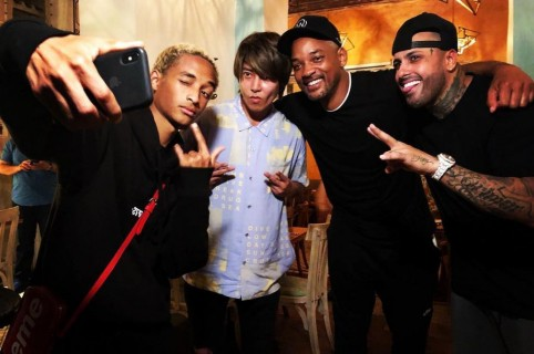 Will Smith, Jaden Smith y Nicky Jam+
