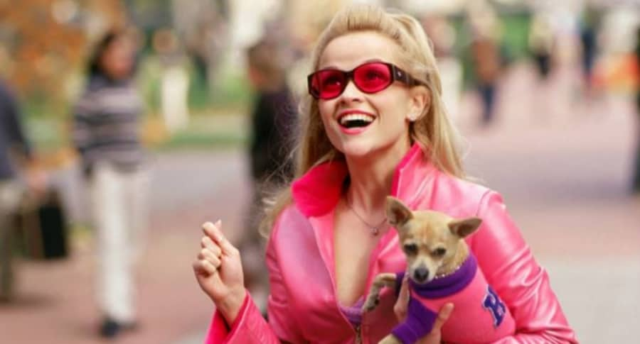 Reese Witherspoon en 'Legalmente rubia'.