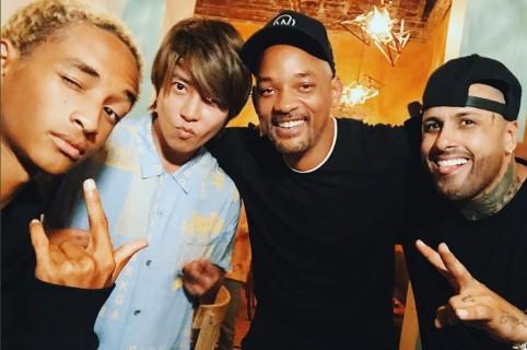 Jaden, Will y Nicky