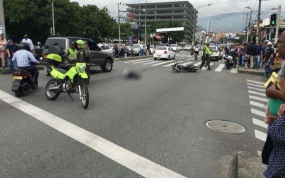 Doble asesinato en Medellín