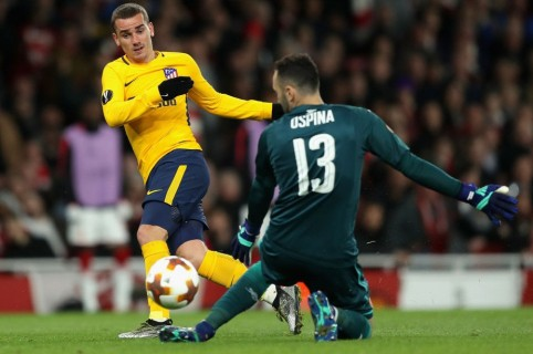 Arsenal 1-1 Atlético de Madrid