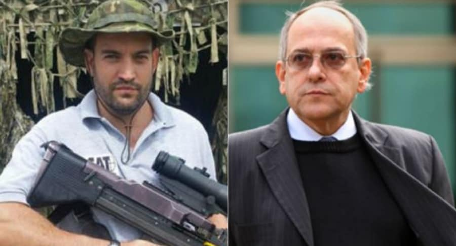 Jaime Restrepo y José Obdulio Gaviria