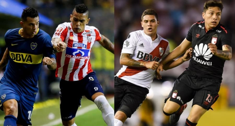 Boca vs. Junior / Santa Fe vs. River