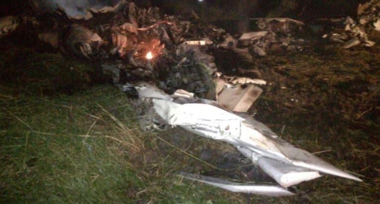 Accidente de aeronave en Tolima