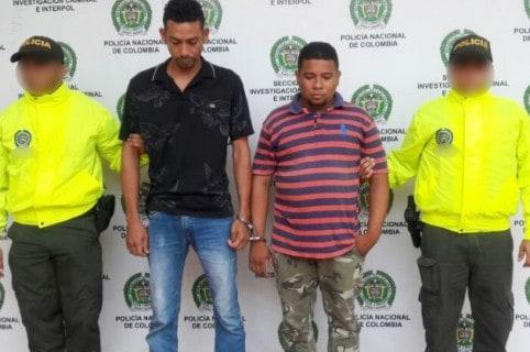 Capturados en Cartagena