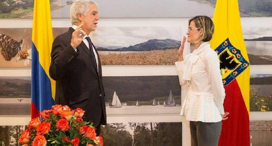 María Carolina Castillo, actual gerente del Acueducto de Bogotá