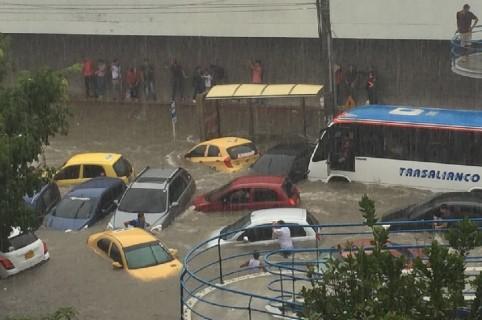 Arroyo en Barranquilla
