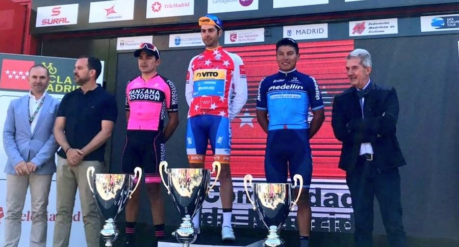 Podio Vuelta a Madrid