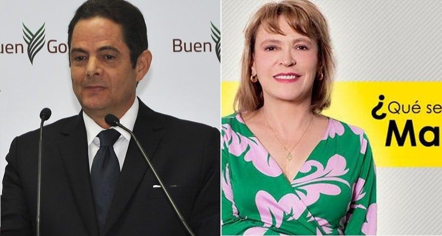 Germán Vargas lleras, político, María Isabel Rueda, columnista.
