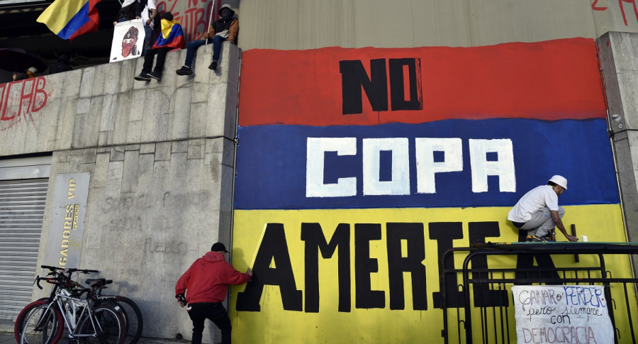 """Conmebol dijo no a Colombia: agradece """"empeño"""" de Duque pero ..."""
