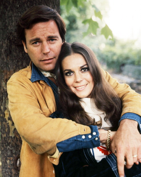American actors Robert Wagner and his wife Natalie Wood (1938 - 1981), circa 1970. (Photo by Silver Screen Collection/Getty Images)