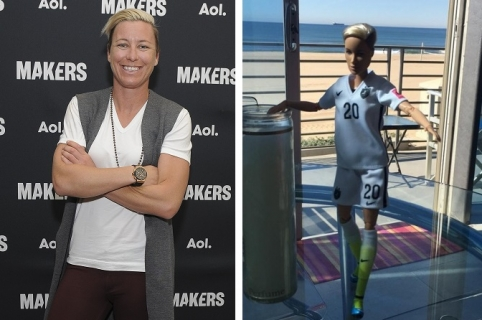 RANCHO PALOS VERDES, CA - FEBRUARY 02:  America soccer player and two-time Olympic gold medalist Abby Wambach attends the 2016 MAKERS Conference Day 2 at the Terrenea Resort on February 2, 2016 in Rancho Palos Verdes, California.  (Photo by Angela Weiss/Getty Images for AOL)