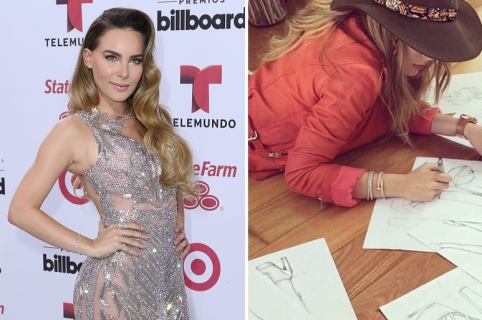 MIAMI, FL - APRIL 30:  Belinda arrives at 2015 Billboard Latin Music Awards presented by State Farm on Telemundo at Bank United Center on April 30, 2015 in Miami, Florida. (Photo by Alexander Tamargo/WireImage)