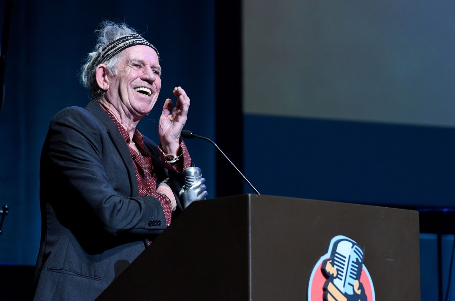 Keith Richards: un intoxicado musical