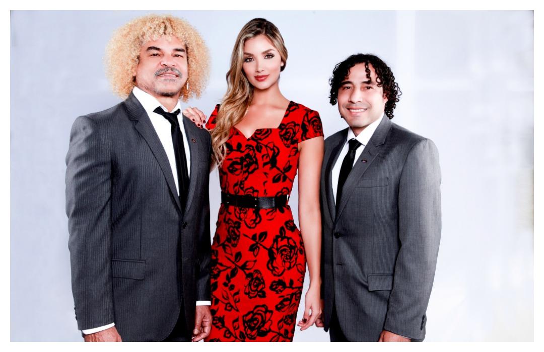 Pibe, Melina y BOlanos
