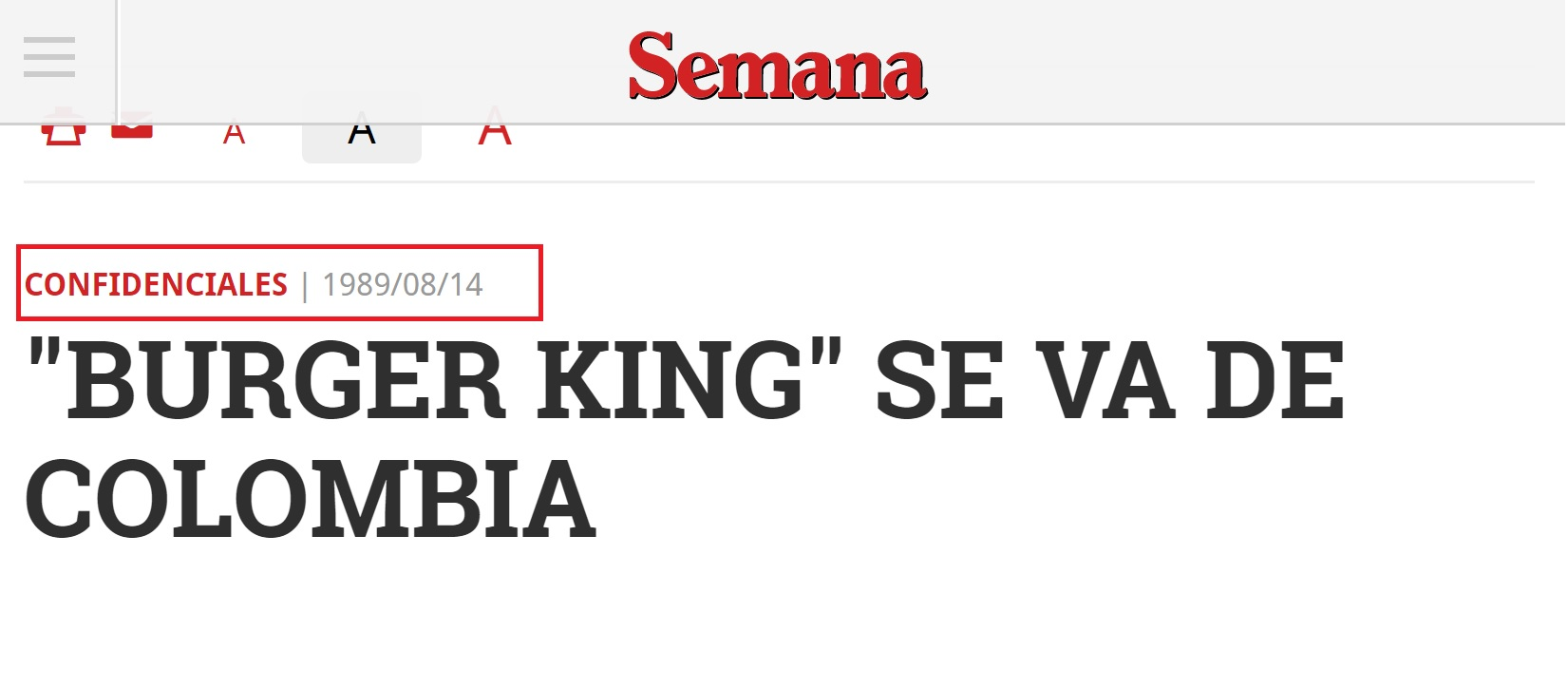 Burger King se va