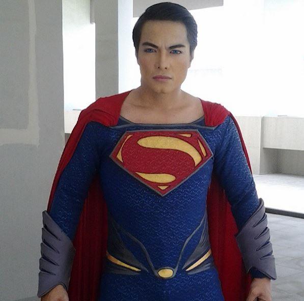 Herbert Chavez Superman Instagram