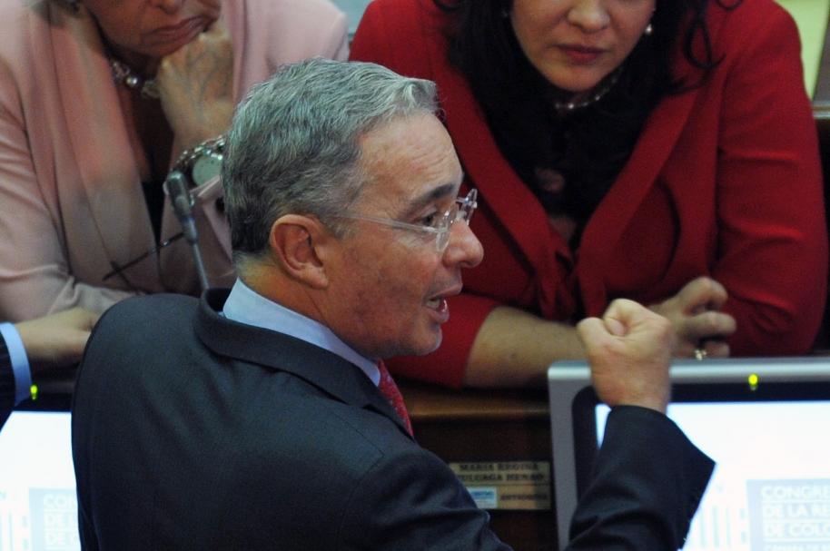 Senador Alvaro Uribe