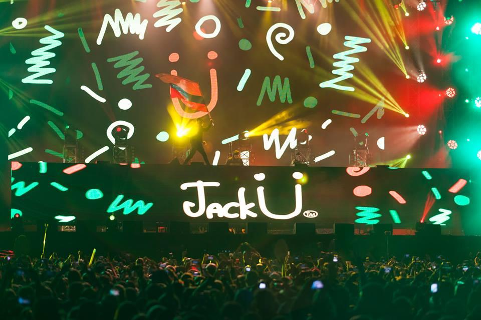 Jack Ü. Foto: David Micolta, Festival Estéreo Picnic 2016