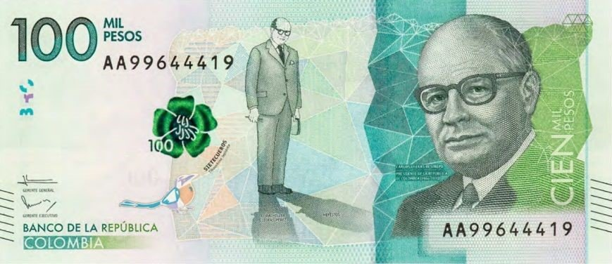 Resultado de imagen para billetes nuevos colombia